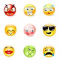 Miniatura de Dieciocho Emoticonos