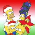 Miniatura de Familia Simpson En Navidad