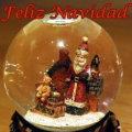 Miniatura de Bola De Cristal De Navidad