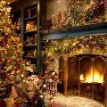 Miniatura de Casa En Plena Navidad