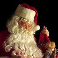 Miniatura de Papa Noel Revisando La Lista