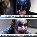 Miniatura de Batman Clases De Yoga