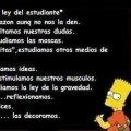 Miniatura de Ley Del Estudiante Por Bart