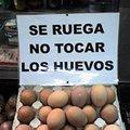 Miniatura de Se Ruega No Tocar Los Huevos