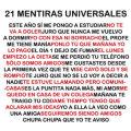 Miniatura de Ventiuna Mentiras Universales