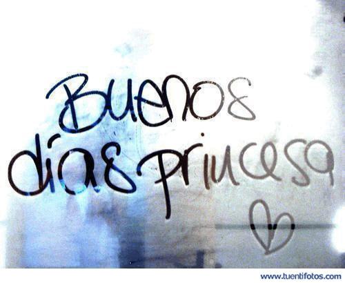Amor de Buenos Dias Princesa
