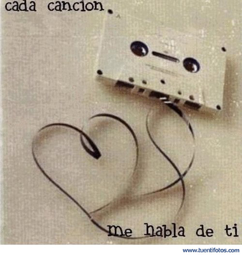Amor de Cada Canción Me Habla De Ti