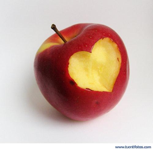 Amor de Corazon En Manzana