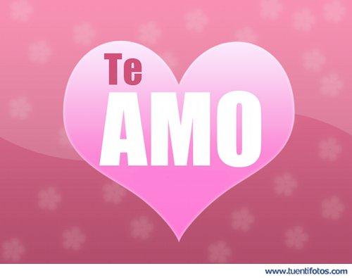 Amor de Corazón Te Amo