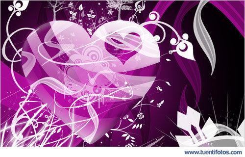 Amor de Corazón Violeta