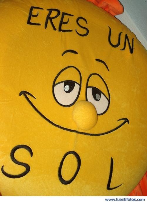 Frases de Eres Un Sol