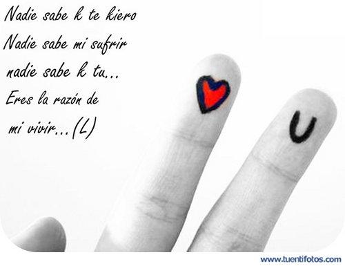 Amor de Nadie Sabe Que Te Quiero