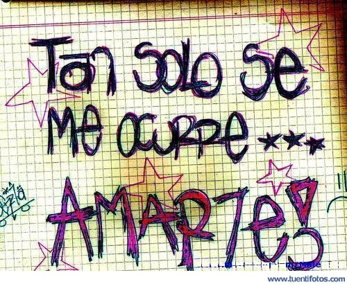 Amor de Tan Solo Se Me Ocurre Amarte