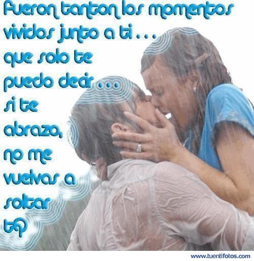 Amor de Abrazo Los Momentos Junto A Ti