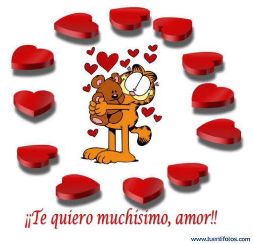 Amor de Te Quiero Muchisimo Amor