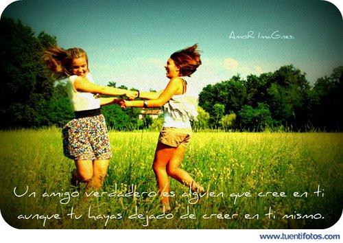 Amistad de Un Amigo Verdadero