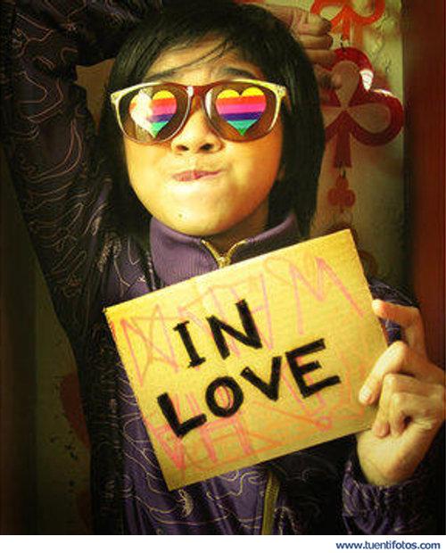 Amor de Un Cartel De Enamorada